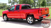 Chevy Silverado BREAKER Upper Body Line Door Accent Rally Side Vinyl Graphic Decal Stripe Kit for 2014 2015 2016 2017 2018 Models