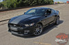 Ford Mustang CONTENDER Wide Center Bumper to Bumper Hood Racing Rally Stripes Vinyl Graphics Kit fits 2015 2016 2017 Models