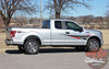Ford F-150 APOLLO ACCENT Side Door Splash Design Rally Stripes Vinyl Graphics Decals Kit for 2015 2016 2017 2018 2019 2020