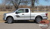 Ford F-150 ELIMINATOR Side Door Hockey Stick Rally Stripes Vinyl Graphics Decals Kit for 2015 2016 2017 2018 2019 2020