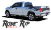 Ford F-150 RODE RIP Mudslinger Side Truck Bed 4X4 Rally Stripes Vinyl Graphics Decals Kit for 2015 2016 2017 2018 2019 2020