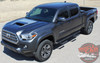 Toyota Tacoma TRD SPORT HOOD Air Intake Wrap Accent Vinyl Graphic Striping Decal Kit for 2015 2016 2017 2018 2019 2020 2021