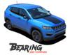 Jeep Compass BEARING VOID Hood Vinyl Graphics Decal Stripe Kit 2017 2018 2019 2020 2021