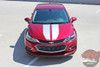 Chevy Cruze DRIFT RALLY Racing Stripes Hood Trunk Vinyl Graphics Decal Kit for 2016 2017 2018 2019