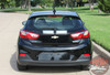 Chevy Cruze DRIFT RALLY HB Racing Stripes Hood Trunk Vinyl Graphics Decal Kit for 2016 2017 2018
