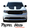 Dodge Durango PROPEL HOOD Dual Double Stripes Decals Vinyl Graphics Kit 2011-2021 Models