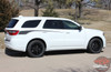 Dodge Durango PROPEL SIDES Rear Door Side Stripes Decals Vinyl Graphics Kit 2011-2020 2021