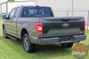 Ford F-150 RODE TAILGATE Pre-Cut Emblem Blackout Vinyl Graphic Decal Stripe Kit for 2018 2019 2020