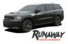 Dodge Durango RUNAWAY Side Door Stripes Decals Vinyl Graphics Kit 2011-2020 2021