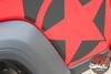 Jeep Gladiator BOOTSTRAP Side Body Star Vinyl Graphics Decal Stripe Kit for 2020-2021 Models