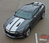 Front Side View of Camaro Racing Stripes CAM SPORT PIN 2016 2017 2018