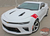 Driver Profile View of Chevy Camaro Fender HASH MARKS Decals 2016 2017 2018