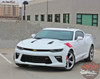 Front Driver View of Chevy Camaro Fender HASH MARKS Decals 2016 2017 2018