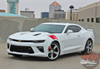 Side Driver Profile View of Chevy Camaro Fender HASH MARKS Decals 2016 2017 2018