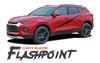 Chevy Blazer FLASHPOINT Side Door Body Vinyl Graphics Decals Stripes Kit 2019 2020 2021