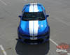 Front full view 2018 Chevy Camaro Racing Rally Stripes TURBO RALLY 2016 2017
