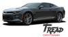 Chevy Camaro TREAD ROCKERS Lower Rocker Panel Door Stripes Vinyl Graphics and Decals Kit for 2016 2017 2018 All Models
