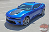 Front view COMBO 2016 Chevy Camaro Racing Stripes HERITAGE 2017 2018