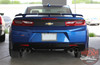 Trunk view of COMBO 2016 Chevy Camaro Racing Stripes HERITAGE 2017 2018