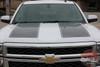 Chevy Silverado Rally Stripes 1500 RALLY STRIPES 2014-2015