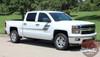 Chevy Silverado Truck Bed Decals SPEED XL 2013-2016 2017 2018
