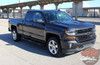 2018 Chevy Silverado Hood Graphics LATERAL SPIKES 2016-2018