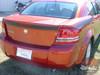 Rear of Dodge Avenger Racing Stripes AVENGED 2008-2013 2014