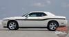 Side of white 2014 Dodge Challenger Body Kit BELTLINE 2008-2019