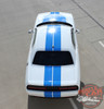 View of 2018 Dodge Challenger Custom Racing Stripes WING RALLY 2015-2020 2021