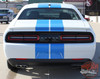 View of 2017 Dodge Challenger Duel Racing Stripes WING RALLY 2015-2020 2021