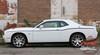 Rear View of 2018 Dodge Challenger Body Stripes SXT SIDE KIT 2011-2020 2021