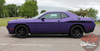 Profile View of 2017 Dodge Challenger Body Decals ROADLINE 2008-2020