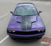 View of 2018 Challenger Blacktop Stripes PULSE RALLY 2015-2019 2020 2021