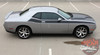 Passenger Side View of 2018 Dodge Challenger TA Decals PURSUIT 2011-2019 2020 2021