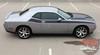 Passenger Side View of 2017 Dodge Challenger TA Stripes PURSUIT 2011-2019 2020 2021