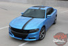 Front angle view 2016 Dodge Charger Stripes E RALLY 15 2015 2016 2017 2018 2019 2020 2021