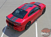 Rear top view of 2018 Dodge Charger SRT Stripes N CHARGE RALLY 15 2015-2021