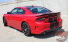 Rear view of 2019 Dodge Charger SRT Stripes N CHARGE RALLY 2015-2021