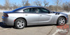 Side view of 2016 Dodge Charger Fender Stripes 15 DOUBLE BAR 2011-2020 2021
