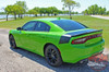 Side View of 2019 Charger Rear Stripes CHARGER TAIL BAND 2015-2020 2021