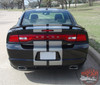 Rear View of 2014 Dodge Charger Stripes N CHARGE RALLY 2011 2012 2013 2014