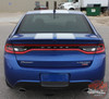 Rear View of 2014 Dodge Dart Decals SPRINT RALLY 2013 2014 2015 2016