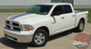 Side View of White 2018 Ram Power Decals POWER TRUCK 2009-2018 2019