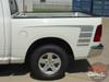 Profile View of White 2016 Dodge Ram Graphics POWER RAM 2009-2015 2016 2017 2018