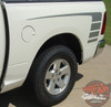 Rear View of White 2018 Dodge Ram Power Wagon Decals POWER TRUCK 2009-2017 2018