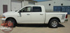 Side View of White 2018 Dodge Ram Power Wagon Decals POWER TRUCK 2009-2017 2018