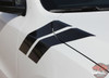 Front View of 2019 Dodge Durango Fender Decals DOUBLE BAR 2011-2020 2021