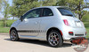 Profile of Fiat 500 Abarth Decals FIAT STROBE 2012-2019