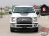 Front View of 2018 F150 Hood Graphics FORCE HOOD 2009-2019 2020