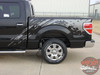 Rear View of 2014 Ford Raptor Decals PREDATOR 2009-2011 2012 2013 2014